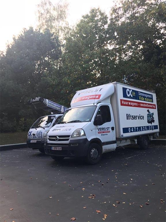 camion de déménagement belgique