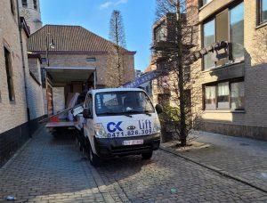 déménagement à Namur