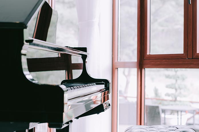 piano à déménager